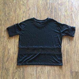 Brandy Melville Shirt w/ Mesh Paneling